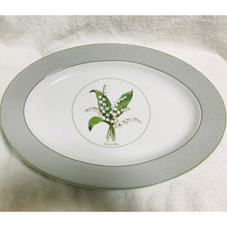 クリスチャンディオール(Christian Dior)の新品 未使用品 dior  オーバル 大皿37cmx 27cm(食器)