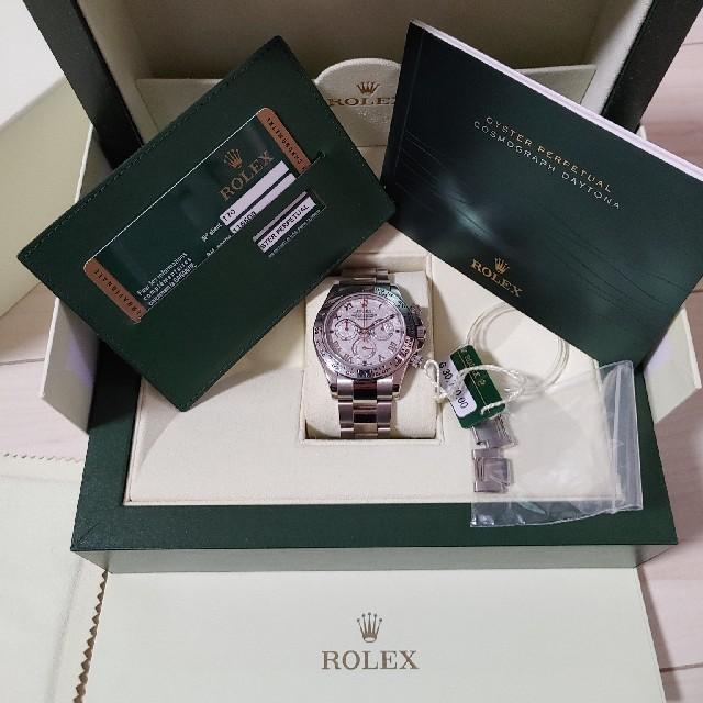 ROLEX - ロレックス デイトナ 116509 メテオライト ランダム 新バックルの通販