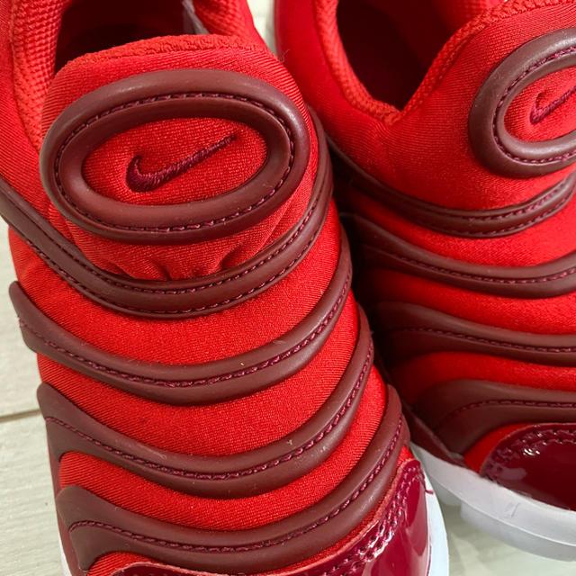 NIKE(ナイキ)の新品 訳あり 16cm ナイキNIKE ダイナモフリー レッド赤 キッズ/ベビー/マタニティのキッズ靴/シューズ(15cm~)(スニーカー)の商品写真