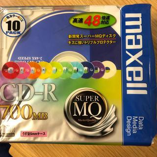 マクセル(maxell)のCD-R 700MB 9枚未使用 maxell(PC周辺機器)