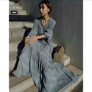 Ameri VINTAGE - 新品タグ付き アメリヴィンテージ SHIRRING PLEATS DRESS