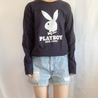 プレイボーイ(PLAYBOY)のPLAY BOY 長袖TEE(Tシャツ(長袖/七分))