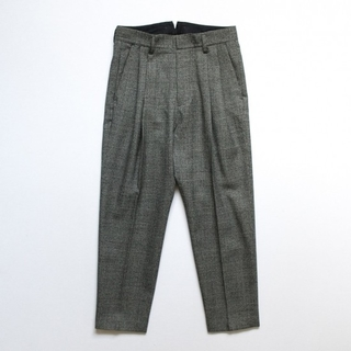 SUNSEA - stein シュタイン TWO TUCK WIDE TROUSERS/Glen