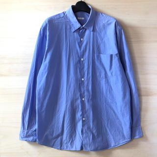 COMOLI - comoli 15ss コモリシャツ サックス サイズ3