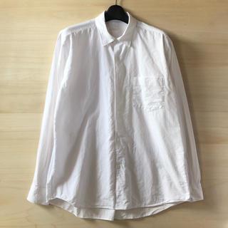 COMOLI - comoli ダブルフロントコモリシャツ ホワイト サイズ2