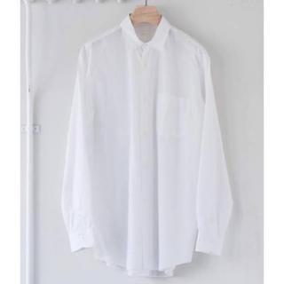 COMOLI - 19aw comoli コモリシャツ ホワイト サイズ1