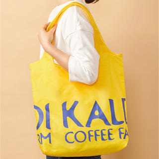 KALDI - 新品タグ付❤︎カルディ KALDI エコバッグ イエロー
