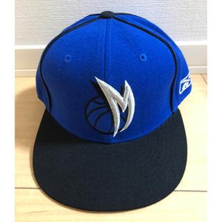 リーボック(Reebok)のREEBOK NBA CAP オーランド マジック キャップ 青 7 5/8(バスケットボール)