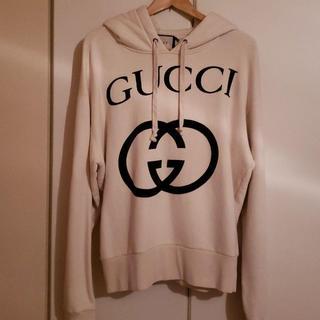 Gucci - GUCCI グッチ ビックロゴスウェットパーカー
