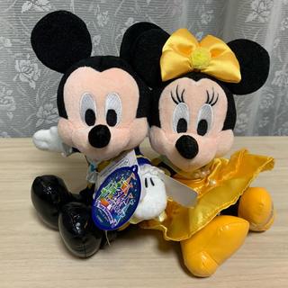 Disney - 未使用 ミッキー ミニー 美女と野獣 ぬいぐるみ ディズニーランド 31周年