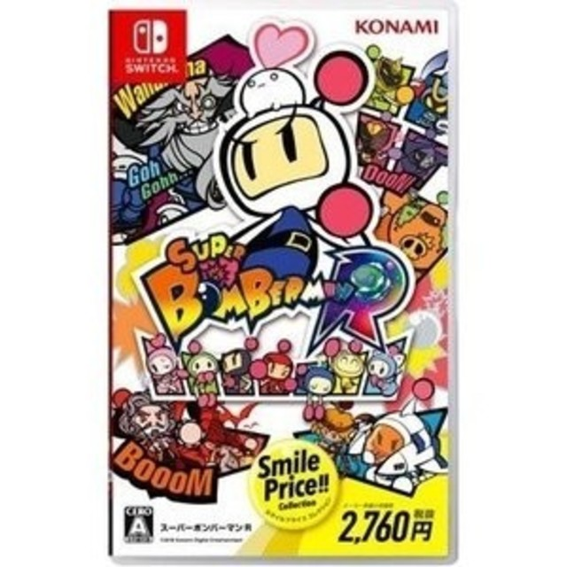 Nintendo Switch(ニンテンドースイッチ)のボンバーマンR エンタメ/ホビーのゲームソフト/ゲーム機本体(家庭用ゲームソフト)の商品写真