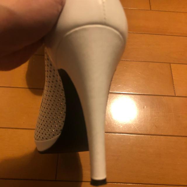 DIANA(ダイアナ)のダイアナ メッシュパンプス ホワイト レディースの靴/シューズ(ハイヒール/パンプス)の商品写真