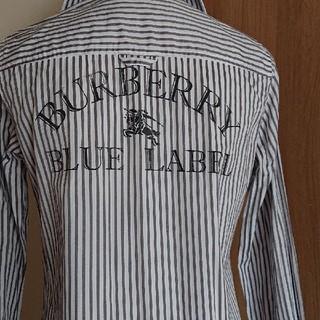 BURBERRY BLUE LABEL - バーバリーブルーレーベル シャツワンピース