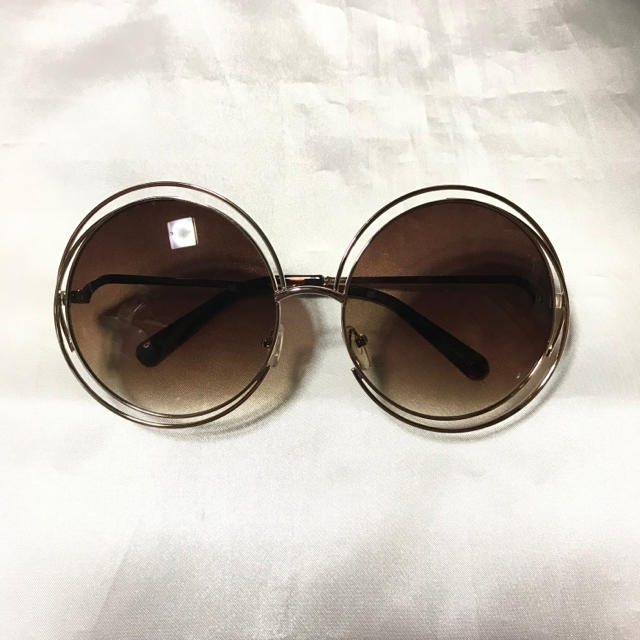 Gucci(グッチ)のセール 💟 セレブ ラウンド サングラス グラデーション トレンド  レディースのファッション小物(サングラス/メガネ)の商品写真