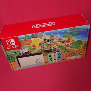 Nintendo Switch - どうぶつの森 switch本体