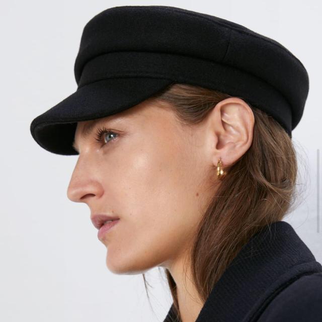ZARA(ザラ)のZara キャスケット レディースの帽子(キャスケット)の商品写真