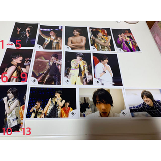 Johnny's -  SixTONES(jロゴ)公式写真160円