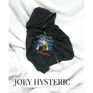 ジョーイヒステリック(JOEY HYSTERIC)のJOEY HYSTERIC スウェットパーカー ダブルジップ(ジャケット/上着)