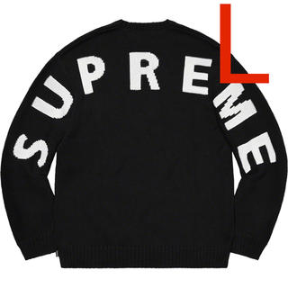 Supreme - ラス1着 Lサイズ 20ss Supreme Back Logo Sweater
