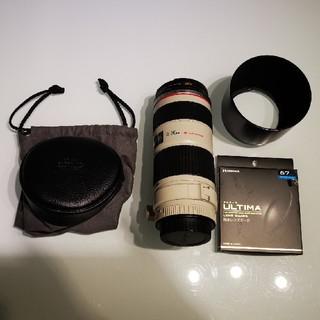 Canon - キャノン EF70-200mm L F4 IS USM フィルター付中古品