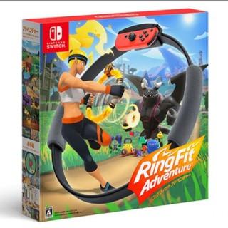 ニンテンドースイッチ(Nintendo Switch)の【新品未開封・送料込み】 リングフィット アドベンチャー(家庭用ゲーム機本体)