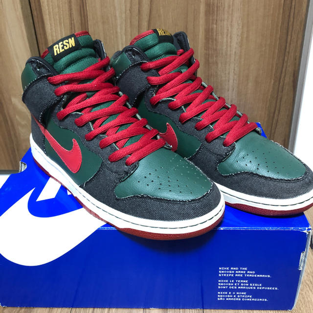 NIKE - Nike Dunk High SB RESN Gucciの通販