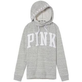 Victoria's Secret - ★Victoria's Secret★PINK★フード付き  ライトグレー