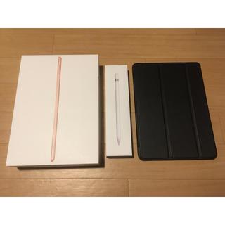 アイパッド(iPad)のipad 第6世代wifi 128GB  Apple pencil 第一世代(タブレット)