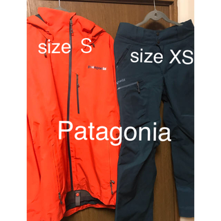 patagonia - patagonia/パウダーボウル上下セット