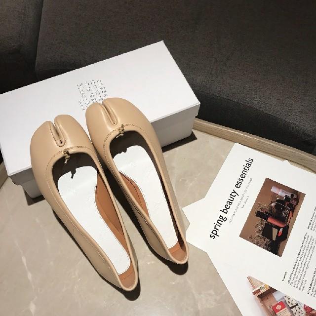 Maison Martin Margiela(マルタンマルジェラ)のメゾンマルジェラ パンプス 足袋 バレエシューズ レディースの靴/シューズ(ローファー/革靴)の商品写真