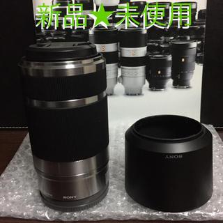 SONY - 新品★SONY★ミラーレス一眼★望遠レンズE55-210mm★シルバー