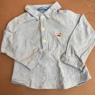 familiar - 【90】ファミリア  長袖 シャツ