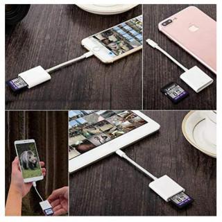SDカードカメラリーダー iPhone iPad 高速 転送 microメモリ(その他)