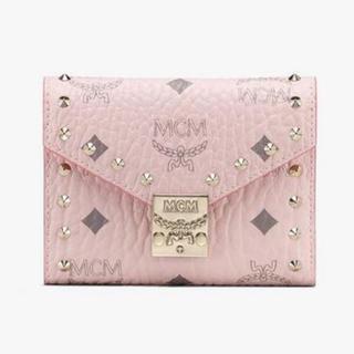 MCM - MCM 財布 ピンク