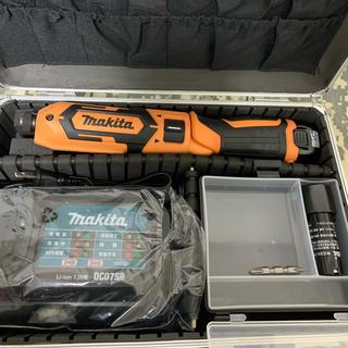 マキタ(Makita)のマキタ TD022DSHX オレンジ フルセット ペンインパクト(工具/メンテナンス)