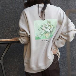 FREAK'S STORE - 【未使用】フリークスストア 別注アートスウェット クルーネックプルオーバー