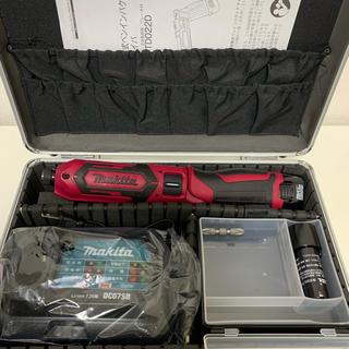 マキタ(Makita)のマキタ TD022DSHX レッド フルセット ペンインパクト(工具/メンテナンス)