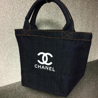 CHANEL - デニムトートバッグ ノベルティ シャネル