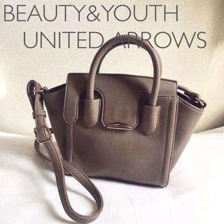 BEAUTY&YOUTH UNITED ARROWS - BY■ショルダーバッグレディース斜めがけブランド ハンドバッグ ミニトートバッグ