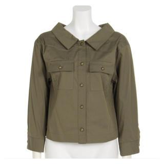 リランドチュール(Rirandture)の新品★リランドチュールシャツジャケット人気のカーキ★これからの季節に便利(テーラードジャケット)