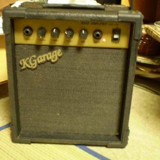 故障 ミニアンプ K-Garage RMS-20B 中古アンプ 音楽 スピーカー(ギターアンプ)