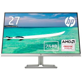 HP - HP モニター 27インチ ディスプレイ フルHD  HP 27f ブラック