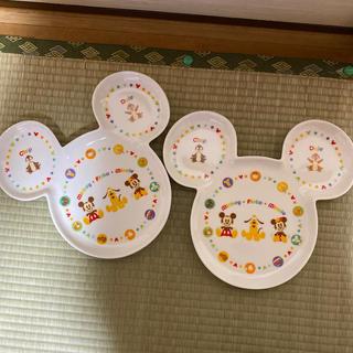 Disney - ディズニーランド購入の皿 2枚セット