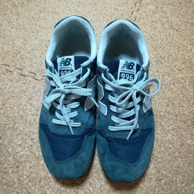 New Balance(ニューバランス)のニューバランス996ネイビー 24.5 レディースの靴/シューズ(スニーカー)の商品写真