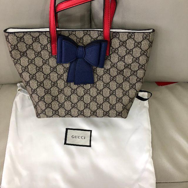 Gucci - GUCCIリボントートバッグの通販
