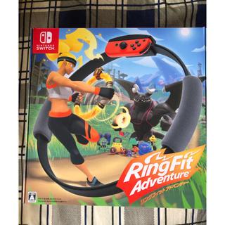 ニンテンドースイッチ(Nintendo Switch)のリングフィットアドベンチャー ニンテンドー Switch 中古(家庭用ゲームソフト)