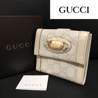 Gucci - 【正規品】美品✨Gucci グッチ シマ 折財布