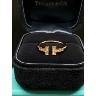 Tiffany & Co. - 新生活◎TIFFANY&CO. ティファニーT ダイヤ ワイヤーリング k18