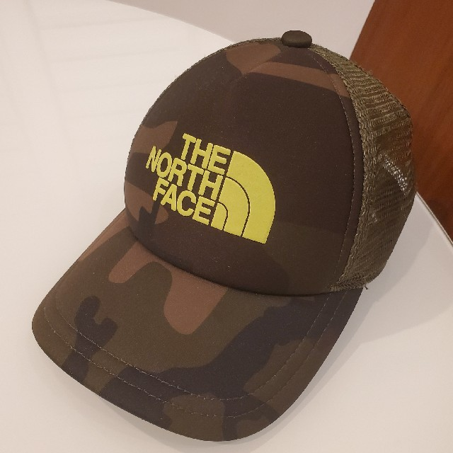 THE NORTH FACE(ザノースフェイス)のTHE NORTH FACE キャップ キッズ カモフラ 迷彩 キッズ/ベビー/マタニティのこども用ファッション小物(帽子)の商品写真