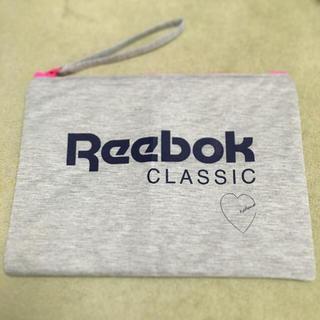 リーボック(Reebok)の雑誌mini♡付録 ジャンボポーチ(ポーチ)